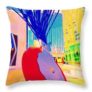 My Vegas City Center 31 Throw Pillow by Randall Weidner