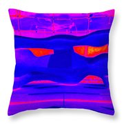My Vegas City Center 36 Throw Pillow by Randall Weidner