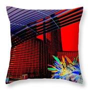 My Vegas City Center 54 Throw Pillow by Randall Weidner
