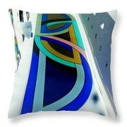 My Vegas City Center 57 Throw Pillow by Randall Weidner