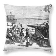 Nast: Parochial Schools Throw Pillow by Granger