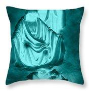 Nativity Throw Pillow by Lourry Legarde