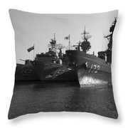 Naval Joint Ops V1 Throw Pillow by Douglas Barnard