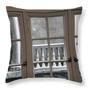 Neighbors Baluster Throw Pillow by Anna Villarreal Garbis
