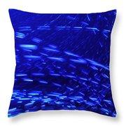 Neon Lights  Throw Pillow by Sumit Mehndiratta