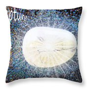 Neptume In Libra Throw Pillow by Augusta Stylianou
