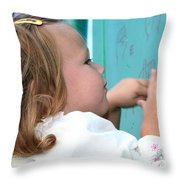 New Discovery 2 Throw Pillow by Susan Stevenson