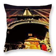 New York City Architecture Throw Pillow by Vivienne Gucwa