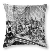 New York: Macys, 1876 Throw Pillow by Granger
