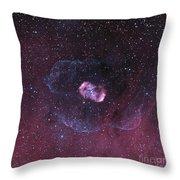 Ngc 6164, A Bipolar Nebula Throw Pillow by Don Goldman
