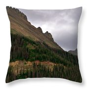 Nokhu Crags Colorado Throw Pillow by Michael Kirsh