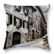 North Italy  Throw Pillow by Mauro Celotti