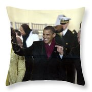 OBAMA INAGURATION, 2009 Throw Pillow by Granger