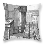 Observatory: Chronometer Throw Pillow by Granger