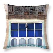 Old And New With Same View Throw Pillow by Darcy Michaelchuk