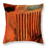 Old International Throw Pillow by Jack Zulli