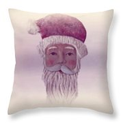Old Saint Nicholas Throw Pillow by David Dehner