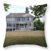 Old School Throw Pillow by Bonfire Photography