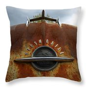 Oldsmobile Throw Pillow by Steve McKinzie