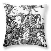 Omar Khayam: Rubaiyat Throw Pillow by Granger