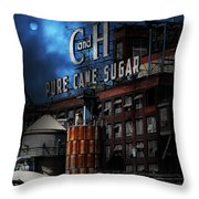Once Upon A Time In The Sleepy Town of Crockett California - 5D16760 - Vertical Cut Throw Pillow by Wingsdomain Art and Photography