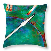 Once Upon A Time Throw Pillow by Judi Bagwell