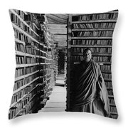 One-tenth Of The Printing Plates Throw Pillow by Dr. Joseph F. Rock