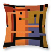 Opinions Throw Pillow by Ely Arsha