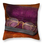 Optometry - Has anyone seen my glasses  Throw Pillow by Mike Savad