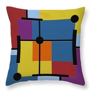 Oracle Throw Pillow by Ely Arsha