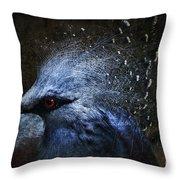 Ornamental Nature Throw Pillow by Andrew Paranavitana