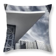 Orwellian Throw Pillow by Joan Carroll