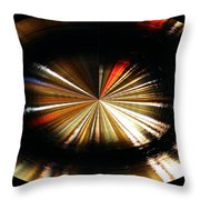 Out Of Control Throw Pillow by Kristin Elmquist