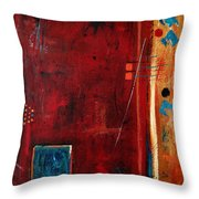 Out Of The Box Throw Pillow by Ruth Palmer