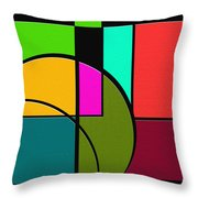 Outs Throw Pillow by Ely Arsha