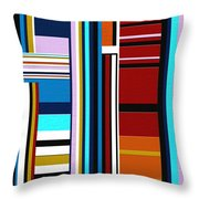 Overture Throw Pillow by Ely Arsha