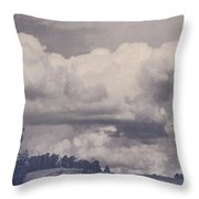 Overwhelmed Throw Pillow by Laurie Search