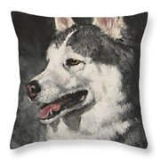 Ozzie Throw Pillow by Jack Skinner