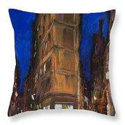 Paris Street 2 Throw Pillow by Yuriy  Shevchuk