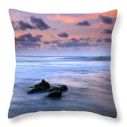 Pastel Tides Throw Pillow by Mike  Dawson