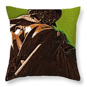 Patriarchal Throw Pillow by First Star Art