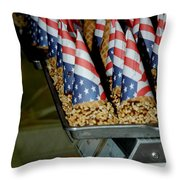 Patriotic Treats Virginia City Nevada Throw Pillow by LeeAnn McLaneGoetz McLaneGoetzStudioLLCcom