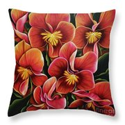 Perfect Love  Throw Pillow by Paula L