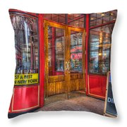 Pershing Square Central Cafe IIi Throw Pillow by Clarence Holmes