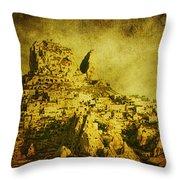 Persian Empire Throw Pillow by Andrew Paranavitana
