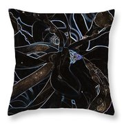 Petals To Pass Throw Pillow by Travis Crockart