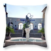 Phillies - Brighthouse Field Clearwater Throw Pillow by Bill Cannon