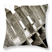 Phillies Dock Halladay Throw Pillow by Trish Tritz
