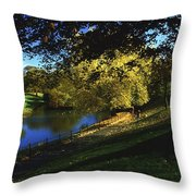 Phoenix Park, Dublin, Co Dublin, Ireland Throw Pillow by The Irish Image Collection