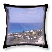 Picture A Moment Throw Pillow by Luke Moore